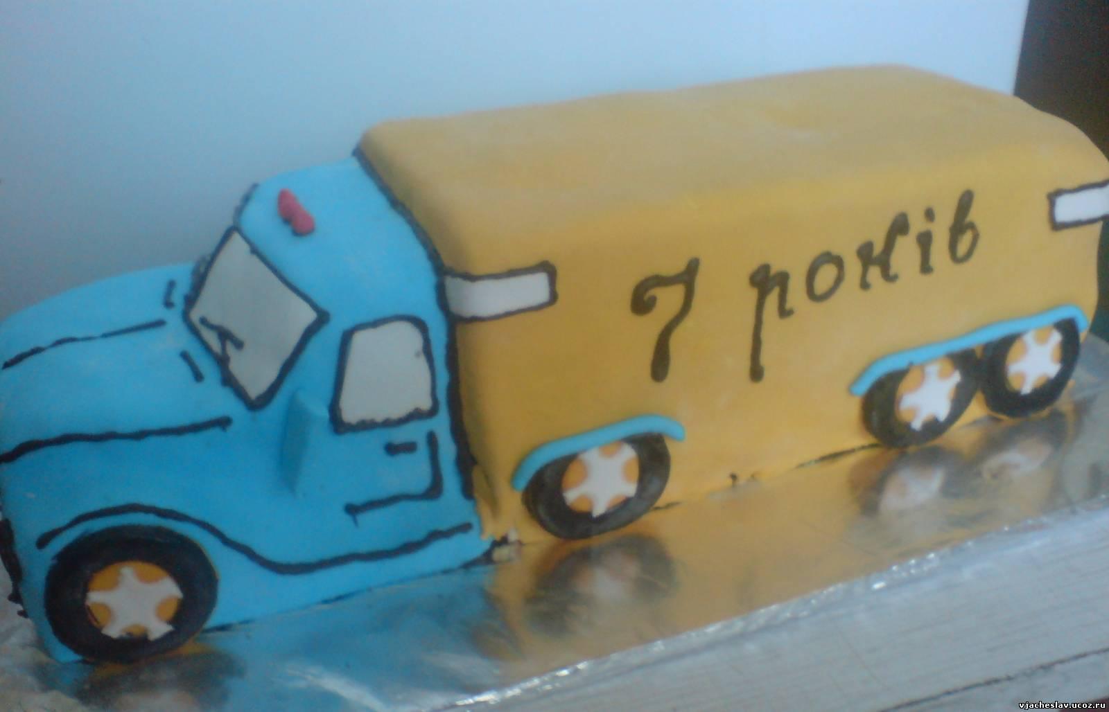 Торт для дальнобойщика своими руками 91