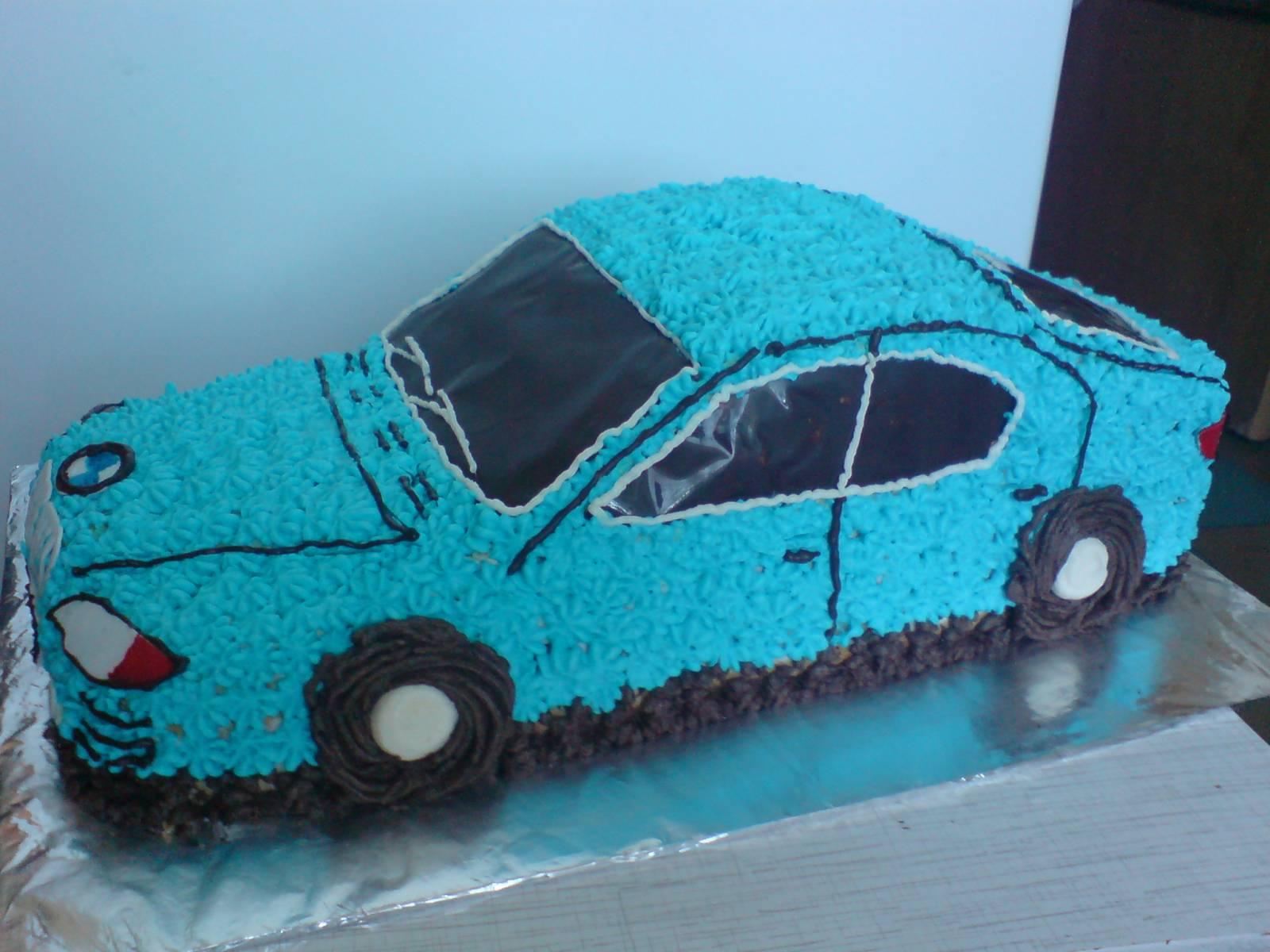 Торт полицейская машина из крема фото пошагово